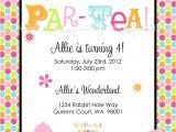 Tea Party Invite Wording Par Tea Tea Party Printable Invite Dimple Prints Shop
