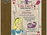 Tea Party themed Baby Shower Invitations Baby Shower Invitation New Tea Party themed Baby Shower