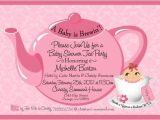 Tea Party themed Baby Shower Invitations Tea Party Baby Shower Invitation Baby Shower