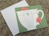 Tea Party themed Bridal Shower Invitations Tea Party themed Bridal Shower Essentials and Ideas