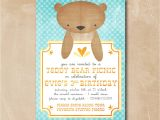 Teddy Bear Baby Shower Invitations Templates Design Teddy Bear Baby Shower Invitations