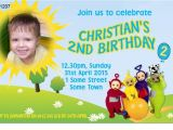 Teletubbies Party Invitations Boys Teletubbies Photo Birthday Invitation Digital and