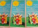 Teletubbies Party Invitations Portfolio