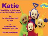 Teletubbies Party Invitations Teletubbies Children S Birthday Party Invitations