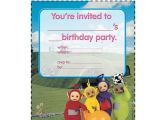 Teletubbies Party Invitations Teletubbies Invitation Charlotte 39 S 2nd Birthday