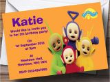 Teletubbies Party Invitations Teletubbies Personalised Children 39 S Birthday Party