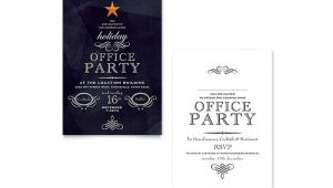 Template for Christmas Party Invitation In Office Office Holiday Party Invitation Template Design