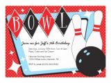 Ten Pin Bowling Party Invitations Bowling Birthday Party Invitations