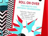 Ten Pin Bowling Party Invitations Bowling Party Invitation Bowling Birthday Invitation by