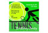 Tennis Birthday Party Invitations Tennis Birthday Party Invitation Zazzle Com