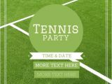Tennis Party Invitation 10 Best Images About Tennis On Pinterest Rehearsal