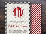 Texas Tech Graduation Invitations 8 Best Images About Texas Tech Graduation Announcements On