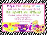 Text for An Invitation for A Birthday Party Birthday Party Invitation Text Message