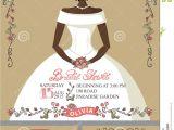 Text for Bridal Shower Invitation Bridal Shower Invitation Set Bride Portrait Retro Stock