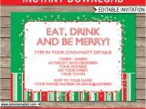 Text for Holiday Party Invitation Christmas Invitation Template Christmas Party Invitation