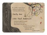 Textured Paper for Wedding Invitations Fall Colors Tree Linen Texture Paper Wedding 5 Quot X 7