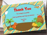 Thank You for Birthday Party Invitation 17 Dinosaur Birthday Invitations How to Sample Templates