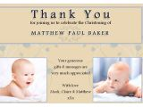 Thank You Message for Baptism Invitation 10 Personalised Christening Baptism Thankyou Photo Cards N193