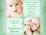 Thank You Message for Baptism Invitation Sea Green Cross Baptism Thank You Fresh tones S