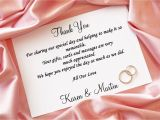 Thank You Message for Wedding Invitation Thank You Cards are just as Important as Your Wedding