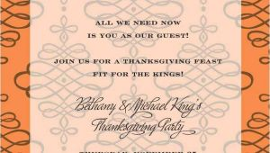 Thanksgiving Wedding Invitation Wording Thanksgiving Invitations