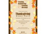 Thanksgiving Wedding Invitation Wording Thanksgiving Luncheon Invitation