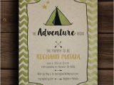 The Adventure Begins Baby Shower Invitations the Adventure Begins Baby Shower Invitation