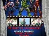The Avengers Party Invitations 51 Best Avengers Invitations Images On Pinterest