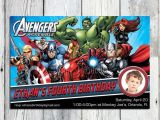 The Avengers Party Invitations the Avengers Birthday Invitation Printable Super Hero