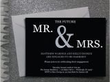 The Future Mr and Mrs Wedding Invitation Future Mr Mrs Engagement Party Invitation Digital File
