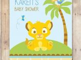 The Lion King Baby Shower Invitations Lion King Baby Shower Invitation by Flurgdesigns On Etsy