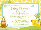 The Lion King Baby Shower Invitations Lion King Baby Shower Invitations Ideas