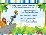 The Lion King Birthday Invitations Lion King Baby Shower Invitations Ideas