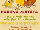The Lion King Birthday Invitations the Lion King Birthday Invitation by Heartsandscraps On