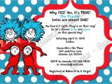 Thing One and Thing Two Baby Shower Invitations Novel Concept Designs Dr Seuss Thing 1 and Thing 2
