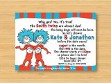 Thing One and Thing Two Baby Shower Invitations Unavailable Listing On Etsy