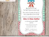 Thing One Thing Two Baby Shower Invitations Thing 1 and Thing 2 Baby Shower Invitation Diy