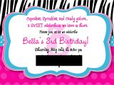 Third Birthday Invitation Quotes 3rd Birthday Invitation Wording Gangcraft Net