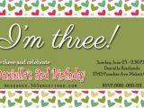 Third Birthday Invitation Quotes 3rd Birthday Invitations 365greetings Com