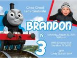 Thomas and Friends Party Invitations Items Similar to Thomas the Train Birthday Party