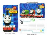 Thomas and Friends Party Invitations Thomas and Friends Birthday Party Invitations Catch the Deal
