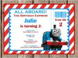 Thomas and Friends Party Invitations Thomas and Friends Invitation Printable Thomas Invitation