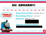 Thomas and Friends Party Invitations Thomas and Friends themed Birthday Party Pocketful Of