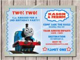 Thomas and Friends Party Invitations Thomas Friends Kids Birthday Invitation Printable by