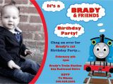 Thomas and Friends Party Invitations Thomas the Train and Friends Birthday Invitation by