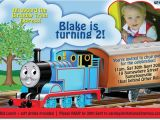 Thomas Birthday Party Invitation Templates Free Printable Thomas the Tank Engine Birthday Invitations