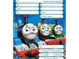 Thomas Birthday Party Invitation Templates Invitation Templates Thomas and Friends