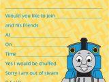 Thomas Birthday Party Invitation Templates Thomas the Train Baby Shower Invitation Ideas