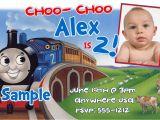 Thomas Birthday Party Invitation Templates Thomas the Train Birthday Invitations