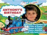Thomas Birthday Party Invitation Templates Thomas the Train Birthday Party Invitations Template
